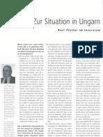 AIB #88 -  Karl Pfeifer Zur Situation in Ungarn 2010