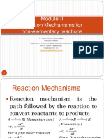 2_Reaction Mechanisms for Non-Elementary Reactions