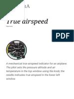 True Airspeed - Wikipedia