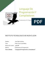 Lenguajes de Programacion Y Compiladores