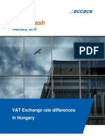 VAT Exchange rate differences in Hungary | News Flash