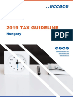 2019 Tax Guideline for Hungary