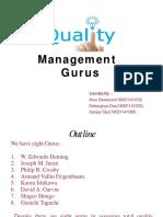 TQM GURUS Presentation