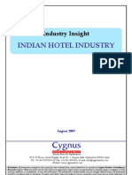 Industry Insight-Indian Hotel Industry_final-14 8 07 by Cygnus