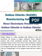 Sodium Chlorite (NaClO2) Manufacturing Industry
