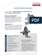 107 Differential Pressure Switch Cat459