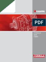 CASAPPA - HYDRAULIC GEARS PUMPS