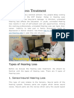 Hearing loss treatment in India blog post