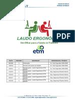 Laudo Ergonômico ETM REFAP_2018