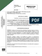 Sentencia del Juzgado Contencioso Administrativo número 15 de Madrid