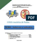 Clases de Tuberia y Valvulas Grupo 5