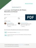Menezes Et Al - 2003 - Catálogo Peixes Marinhos - Brasil