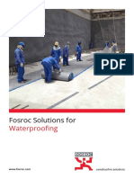 Fosroc Waterproofing Brochure