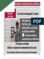Autopréstamo y autodevolución de portátiles, un nuevo servicio del CRAI Antonio de Ulloa