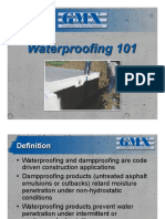 Waterproofing101 GMX