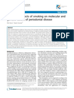 Destructive Effects of Smoking on Molecular And