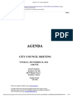 Special City Council Meeting