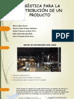 Logistica Dist de Un Producto