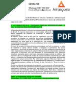 4° e 5° SEMESTRE 2019 - PRODUÇÃO TEXTUAL INTERDISCIPLINAR - O caso da empresa Desentendida Modas S.A