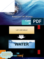 Sources of Water Presentation - Catherine M