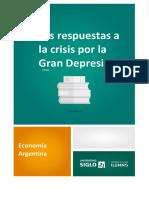 1-4 Las Respuestas a Las Crisis Por La Gran Depresión