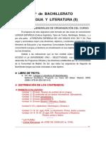 Programacion 2º Bad Lengua y Literatura