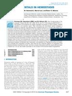 Versteeg - 2013, New Fundamentals in Hemostasis