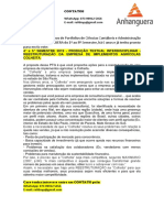 4° e 5° SEMESTRE 2019 - PRODUÇÃO TEXTUAL INTERDISCIPLINAR - REESTRUTURAÇÃO DA EMPRESA DE IMPLEMENTOS AGRÍCOLAS COLHEITA.