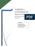 Tuberias y Accesorios Sanitarios