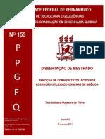 dissertação adsorção