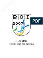 BOI 2007 SOLUTIONS