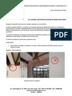 Informe Final de Actividades Hotel Mitru