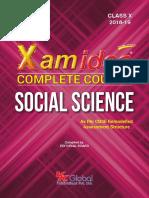 Xam Ideas Class 10 Social Science