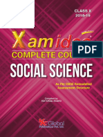 Xam Ideas Class 10 Social Science