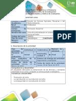 Guía de Actividades y Rúbrica de Evaluación -Paso 2 - Reconocer Los Factores Que Influyen en La Lactancia y La Calidad de La Leche