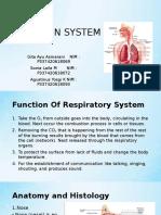 Respiration System Kel.4