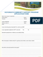 Vic Forests Application Form[1]