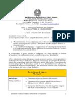 Programma Ammissione Composizione Triennio