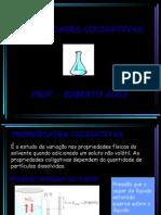 Química RG PPT - Propriedades Coligativas