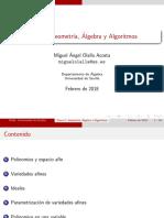 geometria y algebra