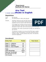 Hkv Aarau Fce Sample Entry Test