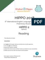 Hippo 2 Reading