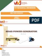 Road Power Generation