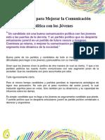 25 Consejos Para Mejorar La Comunicación en Politica Con Los Jovenes