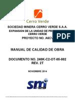 240K C2 OT 05 002 2T Manual de Calidad Obra