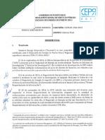 Informe Final CEPR in 2016