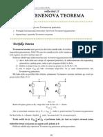 Laboratorijska Vezba - Tevenenova Teorema