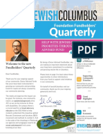 JewishColumbus Foundation Winter Quarter Newsletter