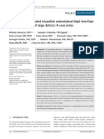 Application of Extende d Bi-pedicle Anterolateral Thigh Free Flaps for Reconstruction of Large Defects - A Case Series