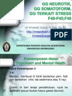 GG NEUROTIK, Somatoform Terkait Stress